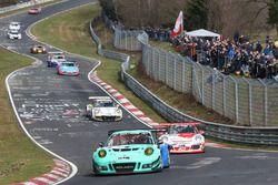 Peter Dumbreck, Alexandre Imperatori, Martin Ragginger, Falken, Porsche 991 GT3R