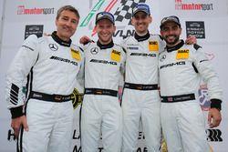 Bernd Schneider, Maro Engel, Manuel Metzger, Adam Christodoulou, Black Falcon, Mercedes- AMG GT3