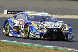 #19 Team Wedssport Bandoh Lexus RC F: Yuhi Sekiguchi, Yuji Kunimoto