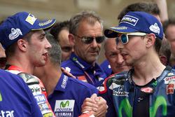 Andrea Iannone, Ducati Team, Ducati y Jorge Lorenzo, Movistar Yamaha MotoGP, Yamaha