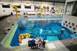 MotoGP-rijders bezoeken het NASA Johnson Space Center