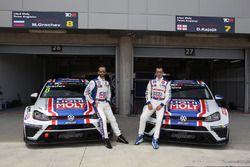 Mikhail Grachev, Volkswagen Golf TCR, Liqui Moly Team Engstler e Davit Kajaia, Volkswagen Golf GTI T