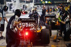Серхио Перес, Sahara Force India F1 VJM09 тренирует пит-стоп