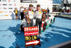 Meister 2016, #29 Montaplast by Land-Motorsport, Audi R8 LMS: Christopher Mies, Connor De Phillippi