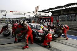 Pit stop, Adrien Tambay, Audi Sport Team Rosberg, Audi RS 5 DTM