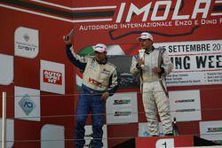 Podio TCT Gara 1: Andrea Mosca, Andrea Bacci