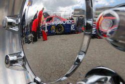 La voiture de Jamie McMurray, Chip Ganassi Racing Chevrolet