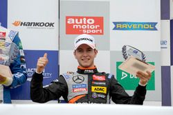 Podium: rookie, Anthoine Hubert, Van Amersfoort Racing Dallara F312 – Mercedes-Benz