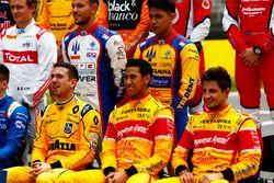 Gruppenfoto: GP2-Fahrer 2016