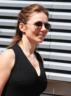Geri Halliwell, Sängerin und Ehefrau von Christian Horner, Red-Bull-Teamchef