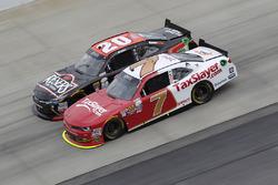 Erik Jones, Joe Gibbs Racing Toyota, Justin Allgaier, JR Motorsports Chevrolet
