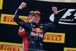 Max Verstappen, Red Bull Racing celebra