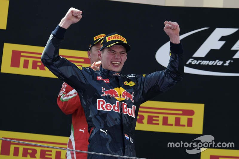 Max Verstappen, Red Bull Racing celebra
