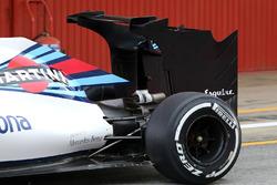 Williams F1 Team, neuer Heckflügel