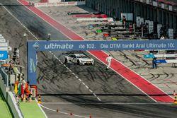 Martin Tomczyk, BMW Team Schnitzer, BMW M4 DTM, in pit