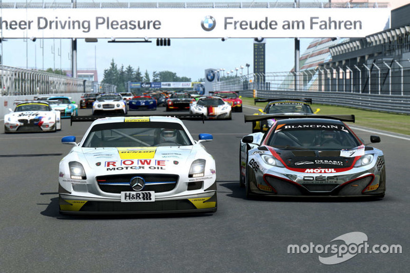 RaceRoom, Mercedes SLS GT3 ve McLaren MP4-12C GT3