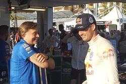 Sebastien Ogier e Jost Capito, Volkswagen Motorsport