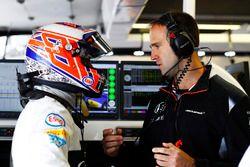 Jenson Button, McLaren, Tom Stallard, McLaren ingeniero de carrera