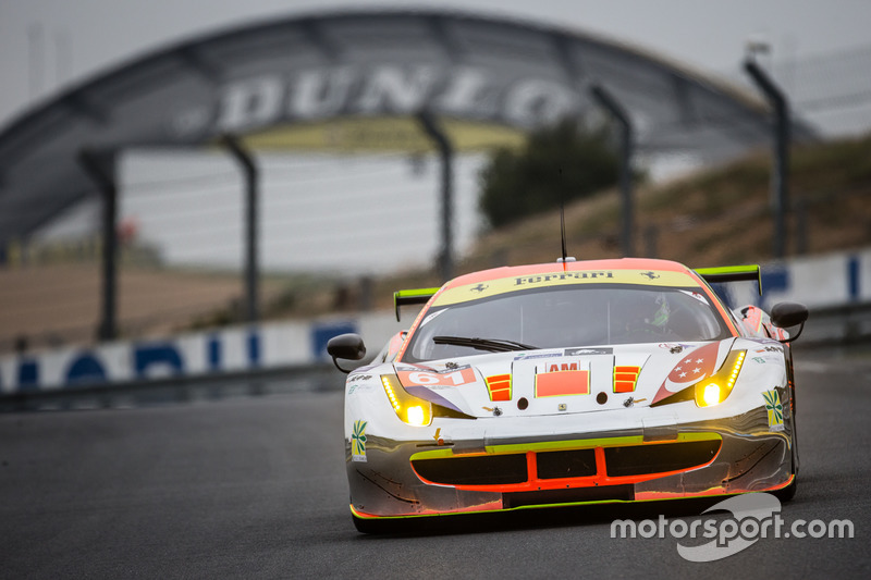 LMGTE Am: #61 Clearwater Racing, Ferrari 458 Italia