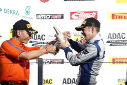 Podium: Mike David Ortmann, Mücke Motorsport