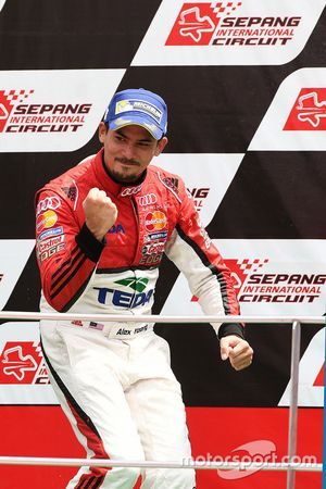 Podyum: 1. Alex Yoong, Audi TEDA Racing Team
