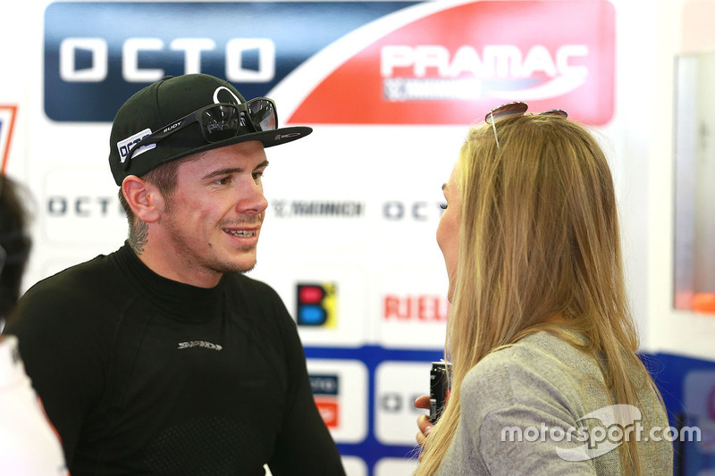 Scott Redding, Pramac Racing e la sua ragazza
