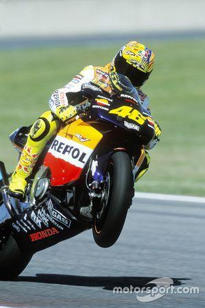 Winner Valentino Rossi, Honda Team