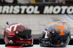Virginia Tech vs Tennessee helmets