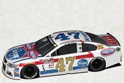 A.J. Allmendinger, JTG Daugherty Racing Chevrolet, livrea speciale