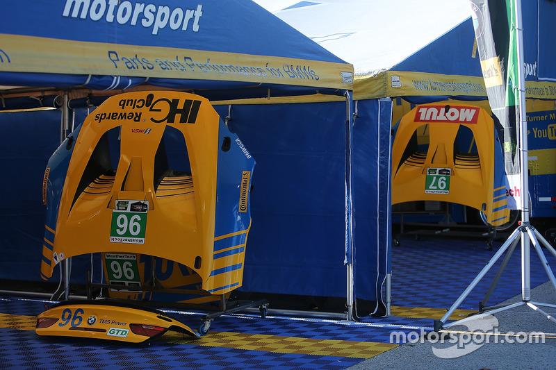 Turner Motorsport team area