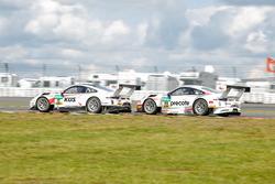 #17 KÜS TEAM 75 Bernhard, Porsche 911 GT3 R: David Jahn, Kévin Estre; #99 Precote Herberth Motorsport Porsche 911 GT3 R: Robert Renauer, Martin Ragginger