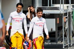 Sean Gelael, Pertamina Campos Racing et Mitch Evans, Pertamina Campos Racing