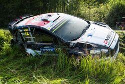 Raigo Molder after crash