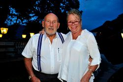 Sir Stirling Moss veLady Susy Moss