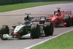 Mika Hakkinen-Michael Schumacher mücadelesi