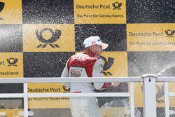 Podyum: Edoardo Mortara, Audi Sport Team Abt Sportsline, Audi RS 5 DTM