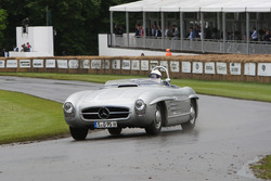 Stirling Moss, Mercedes 300SLS