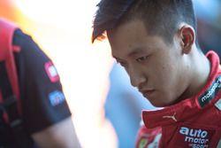 Guanyu Zhou, Motopark Dallara F312 - Volkswagen