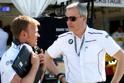 Stefan Reinhold, BMW Team RMG ve Jens Marquardt, BMW Motorsporları Direktörü