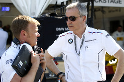 Stefan Reinhold, BMW Team RMG and Jens Marquardt, BMW Motorsport Director