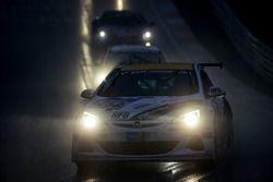 #253 Team WS Racing, Opel Astra OPC Cup: Bernhard Henzel, Stephan Kuhs, Jean-Luc Behets, Ralf Lammering
