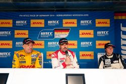 Press Conference: Tom Coronel, Roal Motorsport, Chevrolet RML Cruze TC1; Yvan Muller, Citroën World