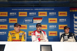 Press Conference: Tom Coronel, Roal Motorsport, Chevrolet RML Cruze TC1; Yvan Muller, Citroën World
