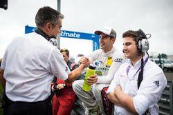 Mike Rockenfeller, Audi Sport Team Phoenix, Audi RS 5 DTM with Dieter Gass, Head of DTM Audi Sport
