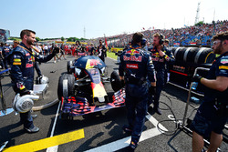 Red Bull Racing sur la grille