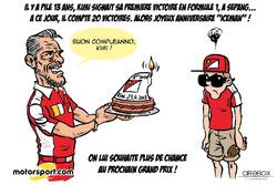 L'humeur de Cirebox - Les 13 ans de la première victoire de Kimi Räikkönen