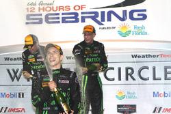 Overall winner Pipo Derani, ESM Racing