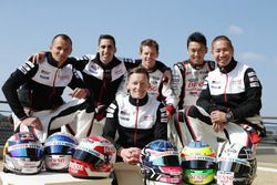 Toyota Racing: Stephane Sarrazin, Sebastien Buemi, Mike Conway, Anthony Davidson, Kazuki Nakajima, K