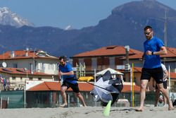 Timo Glock and Martin Tomczyk, Circuit Training