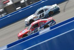 Darrell Wallace Jr., Roush Fenway Racing Ford, Brennan Poole, Chip Ganassi Racing Chevrolet